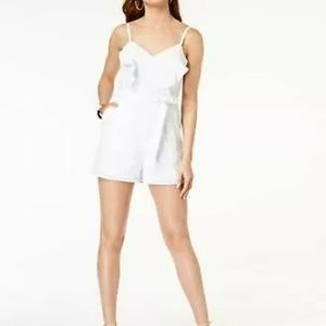 New White Guess romper